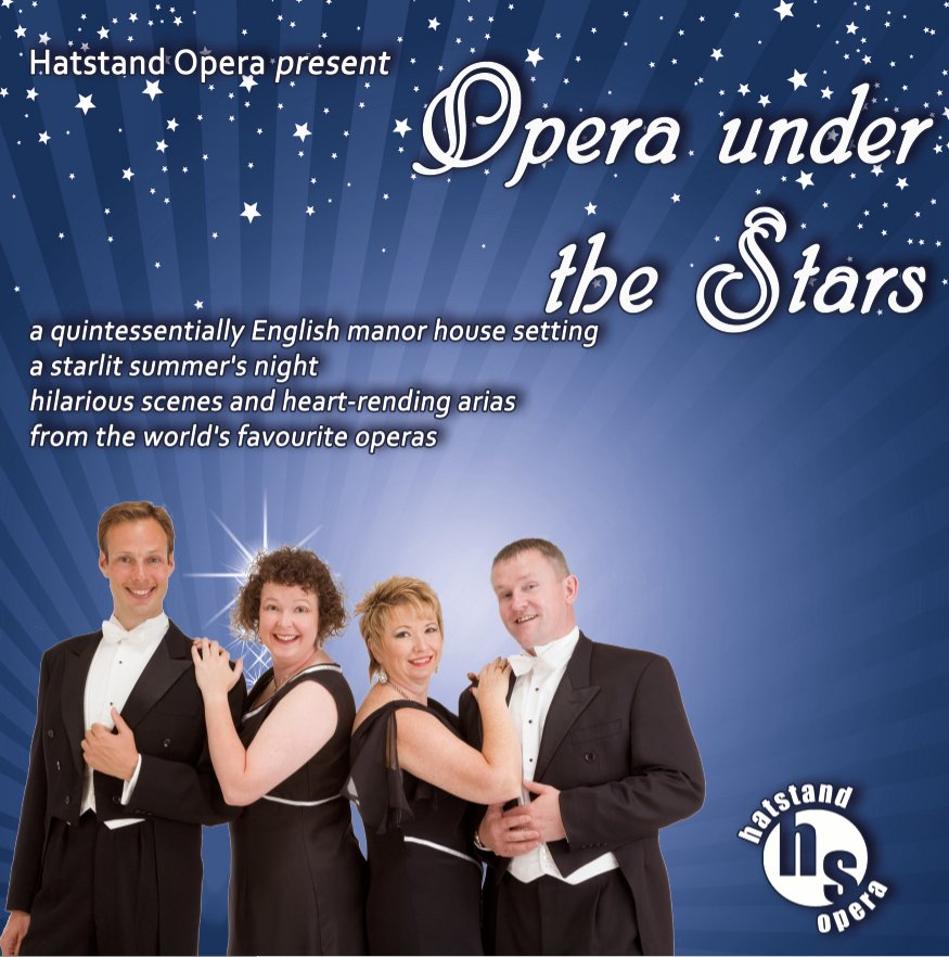 Opera Under the Stars with Hatstand Opera
