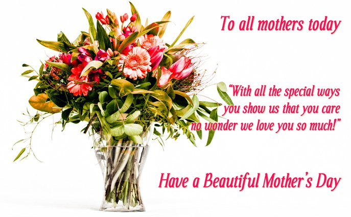 Mothers day flowers happy mother 39 s day hatstand opera the for Best mothers day flowers