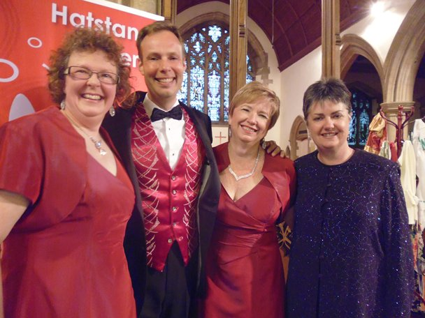 Kirsty, Toni, Jochem & Sue at Chatteris 21st June 2014