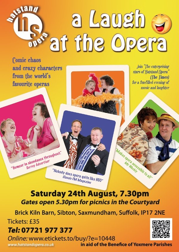 A Laugh at the Opera Suffolk Sat August 24 2013